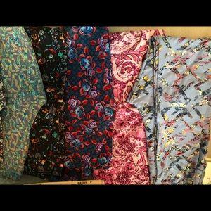14 pairs of tween leggings Lularoe